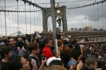 Brooklyn Bridge, 1 October 2011, by Brennan Cavanaugh under cc-by-nc; #ows #occupywallst #occupywallstreet #occupy #globalchange