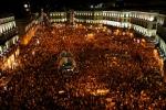 Puerta del Sol, 15 October 2011, by AsaltaMentes under cc-by-nc-sa; #15m #spanishrevolution #democraciarealya #realdemocracynow #globalchange
