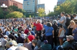 Washington Square Park, 8 October 2011, by Bogieharmond under cc-by; #ows #occupywallst #occupywallstreet #occupy #globalchange